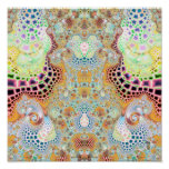 Particularized Dreamtime Variation 3 (12 by 12) Posters