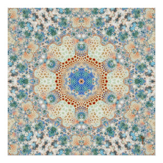 Particularized Hexagram Variation 6  Art Print
