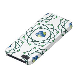 Partículas atómicas iPhone 5 carcasa