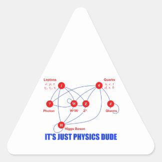 Partículas elementales de los Quarks del bosón de Pegatinas Trianguladas