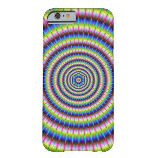Partículas y ondas con adorno floral funda para iPhone 6 barely there