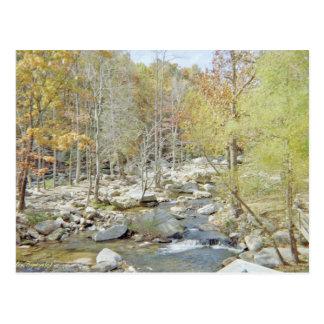 Partida de Rock Creek de la chimenea Tarjetas Postales