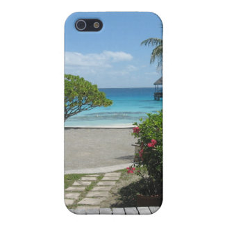 Partida de Tahití iPhone 5 Fundas