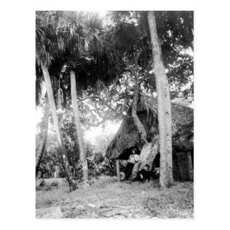 Partida del río indio, la Florida: 1890s Postal