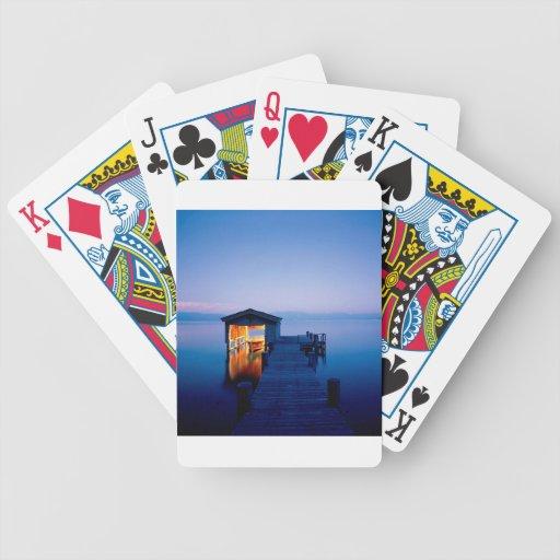 Partida Nevada del lago Tahoe Baraja Cartas De Poker