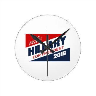 PARTIDARIO 2016 - .PNG DE HILLARY RELOJES