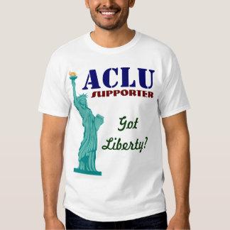 Partidario de ACLU Playeras