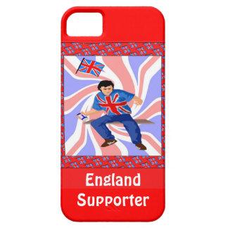 Partidario de Inglaterra iPhone 5 Carcasas