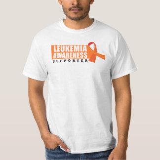 Partidario de la conciencia de la leucemia remera