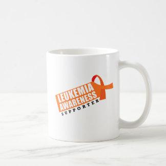 Partidario de la conciencia de la leucemia taza