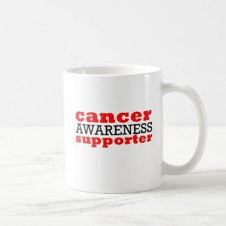 Partidario de la conciencia del cáncer tazas