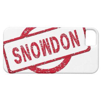 Partidario de Snowden iPhone 5 Cárcasas