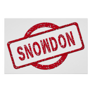 Partidario de Snowden Impresiones