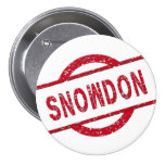 Partidario de Snowden Pin