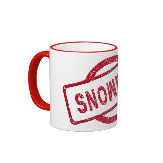 Partidario de Snowden Tazas De Café