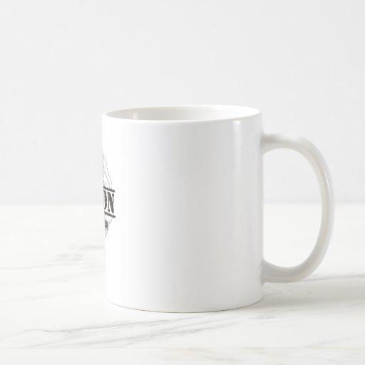 Partidario del gamberro de la unión taza básica blanca