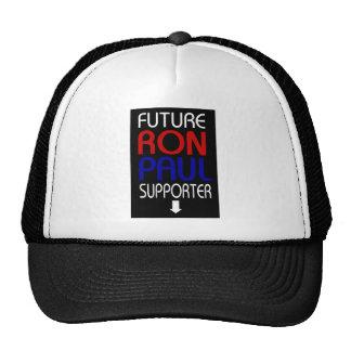 partidario futuro de Ron Paul Gorro De Camionero