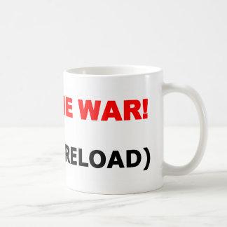 Partidario militar divertido taza