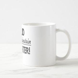 ¡Partidario orgulloso de Dianne Feinstein! Taza De Café