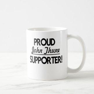 ¡Partidario orgulloso de Juan Thune! Taza