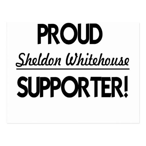 ¡Partidario orgulloso de Sheldon Whitehouse! Postales