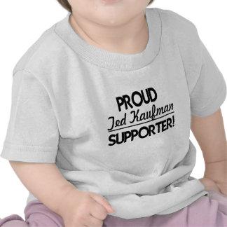 ¡Partidario orgulloso de Ted Kaufman Camisetas