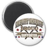 Partidario orgulloso del ayudante del sheriff imán para frigorifico
