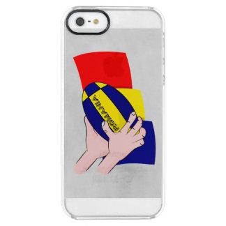 Partidarios rumanos del rugbi de Rumania de la Funda Clearly™ Deflector Para iPhone 5 De Uncommon