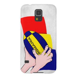 Partidarios rumanos del rugbi de Rumania de la Fundas Para Galaxy S5
