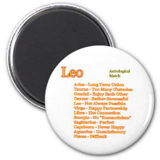Partido astrológico de Leo los regalos de Zazzle d Imán