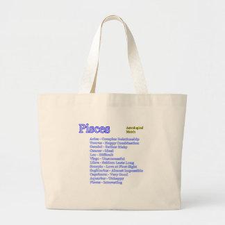 Partido astrológico de Piscis los regalos de Zazzl Bolsa
