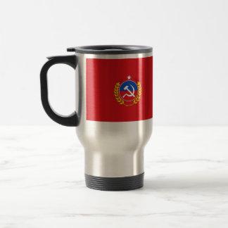 Partido Comunista bandera de Chile, Chile Tazas De Café