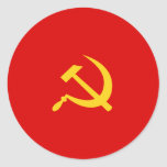 Partido Comunista de Campuchea, Colombia política Pegatina Redonda