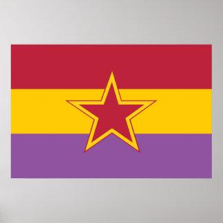 Partido Comunista de España Colombia política Poster