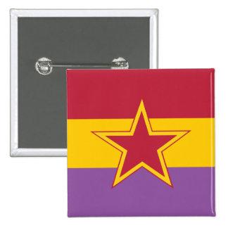 Partido Comunista de España, Colombia política Pin Cuadrado