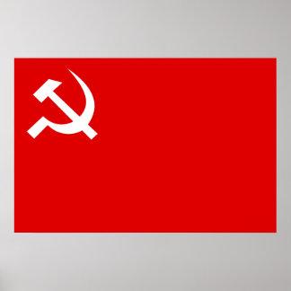 Partido Comunista de Nepal (marxista-leninista uni Póster