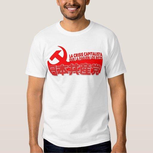 Partido Comunista japonés Poleras