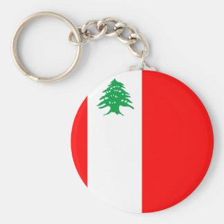 Partido Comunista libanés, bandera política de Col Llavero Personalizado