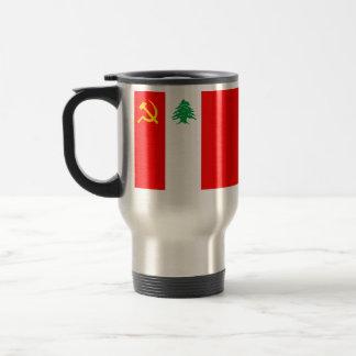 Partido Comunista libanés, bandera política de Col Tazas