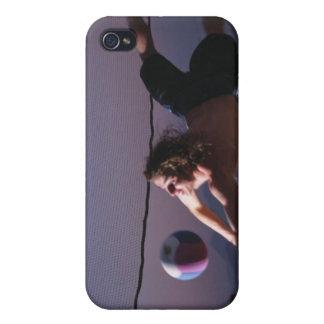 Partido de balonvolea de playa 2 iPhone 4 fundas