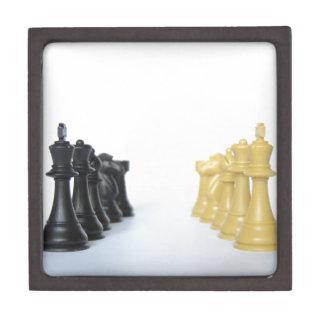 Partido del ajedrez cajas de regalo de calidad
