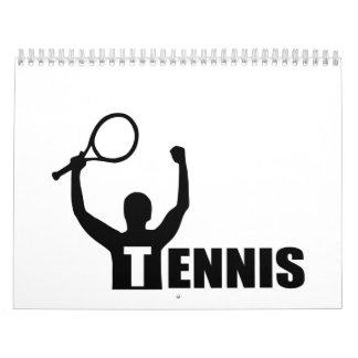 Partido del ganador del campeón del tenis calendarios