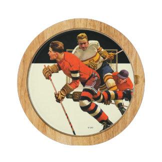Partido del hockey sobre hielo