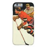Partido del hockey sobre hielo funda barely there iPhone 6