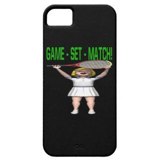 Partido determinado del juego iPhone 5 carcasas