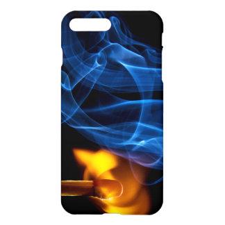 Partido, fuego y humo del Lit Funda Para iPhone 7 Plus