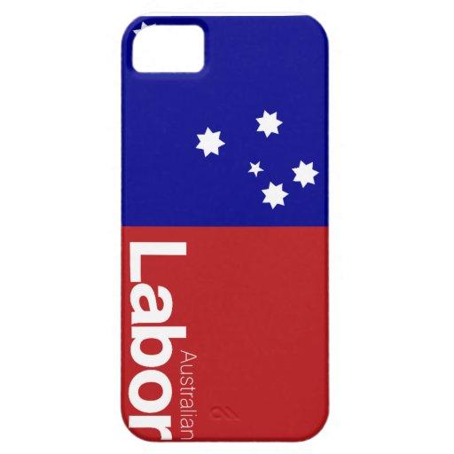 Partido laborista australiano 2013 iPhone 5 Case-Mate protector