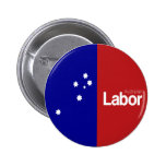 Partido laborista australiano 2013 pin redondo de 2 pulgadas