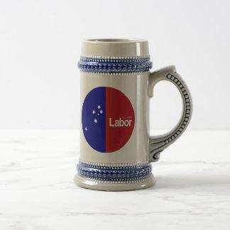 Partido laborista australiano 2013 jarra de cerveza
