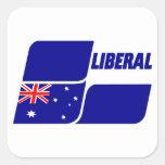 Partido liberal de Australia 2013 Pegatina Cuadrada